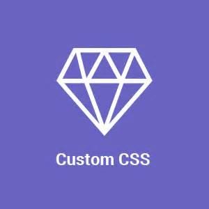 Thesis theme custom css